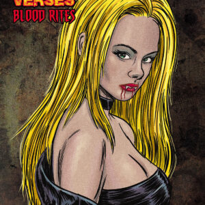 Kickstarter is LIVE!-The Vampire Verses:Blood Rites Sketchbook and Art Book
